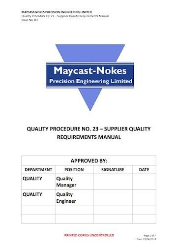 Downloads/Reference Library :: Maycast-Nokes Precision