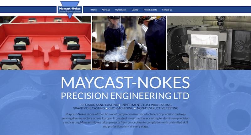 Maycast-Nokes Ltd Sand - Investment - Lost Wax - Gravity Die